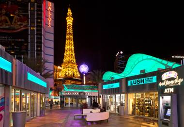 From lobster rolls to married-in-Vegas shops, this new mini-mall is ready to party.