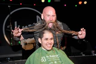 2015 St. Baldrick's Day with Chris Kael at Vinyl on Saturday, March 7, 2015, in Hard Rock Hotel Las Vegas.