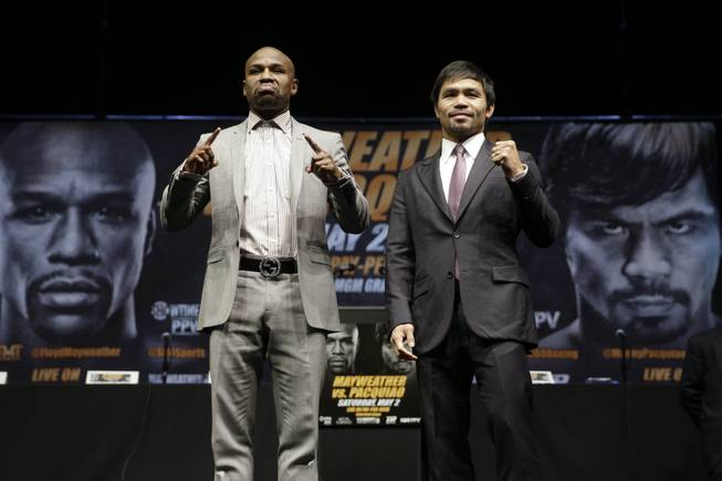 Pacquiao-Mayweather Jr. Boxing