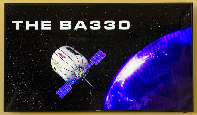 Video still from Bigelow Aerospace as they introduce the B.E.A.M. (Bigelow Expandable Activity Module) on Thursday, March, 12, 2015. L.E. Baskow