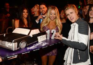 Justin Bieber 21st Birthday at Omnia
