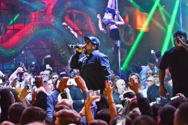 Ice Cube hosts and performs at Surrender on Friday, March 20, 2015, in Encore.