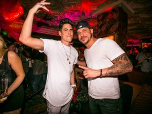 Jax Taylor, Tom Sandoval at Foundation Room