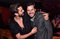 Scott Disick, with Scott Sartiano, hosts at 1 OAK on Friday, March 27, 2015, in the Mirage.
