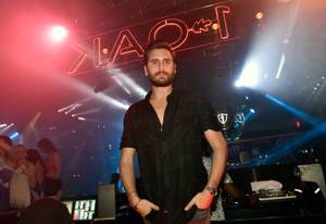Scott Disick at 1 OAK Post-Rehab