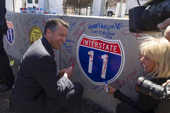 Groundbreaking Ceremony Held For I-11/Boulder City Bypass Project