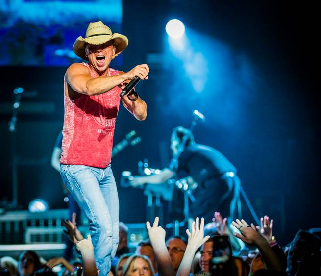 "Kenny Chesney's ""Big Revival Tour"" at The Joint on Friday, April 3, 2015, in the Hard Rock Hotel."