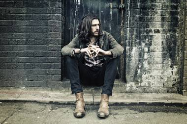 Irish singer-songwriter and musician Hozier.