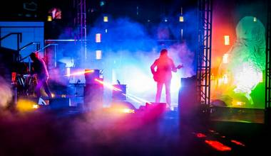 Ratatat at Boulevard Pool on Wednesday, April 8, 2015, in the Cosmopolitan of Las Vegas.