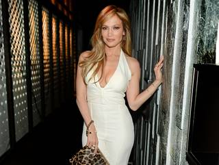 Jennifer Lopez at Hakkasan on Friday, April 10, 2015, in MGM Grand.