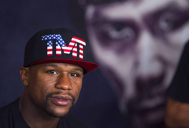 Mayweather Jr. Prepares For Pacquiao