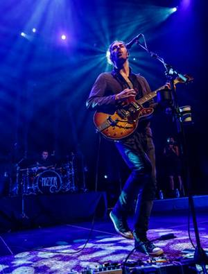 Hozier performs at the Chelsea on Thursday, April 9, 2015, in the Cosmopolitan.