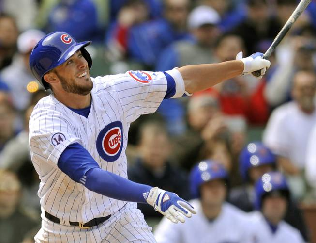 Cubs avoid arbitration with Bryant, Hendricks, Russell, Wilson and La Stella