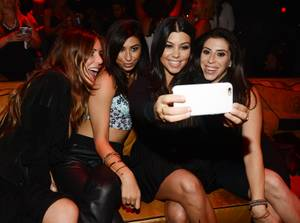 Kourtney Kardashian 36th Birthday at 1OAK