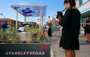 Las Vegas Welcomes First Parklet