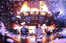 Dutch DJ duo Sunnery James & Ryan Marciano at Hakkasan in MGM Grand.