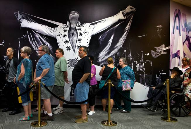 Ribbon Cutting for Graceland Elvis Exhibit at Westgate