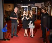 "Westgate Resorts CEO David Siegel, Priscilla Presley, Lisa Marie Presley and Graceland Holdings Managing Partner Joel Weinshanker react after cutting the ribbon at the grand opening of ""Graceland Presents Elvis: The Exhibition, The Show, The Experience"" on Thursday, April 23, 2015, at Westgate Las Vegas."
