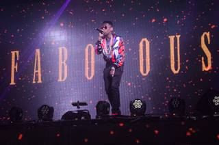 Fabolous hosts and performs at Tao on Thursday, April 30, 2015, in the Venetian.