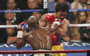 Floyd Mayweather Jr. and Manny Pacquiao fight Saturday, May 2, 2015.