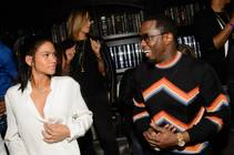 P. Diddy hosts at Lavo on Friday, May 1, 2015, in Palazzo. Cassie is at left.