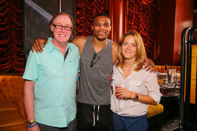 Russell Westbrook at Encore Beach Club on Friday, May 1, 2015, in Las Vegas.