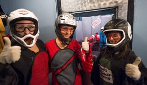 'X Burlesque' at Vegas Indoor Skydiving