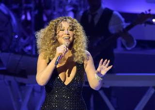 "Opening night of Mariah Carey's ""Mariah #1 to Infinity"" at the Colosseum on Wednesday, May 6, 2015, at Caesars Palace in Las Vegas."