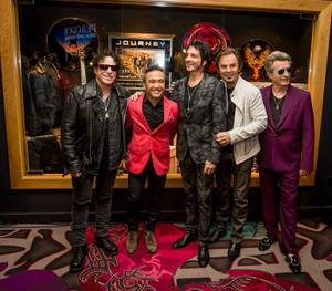 Neal Schon and Journey Memorabilia Cases