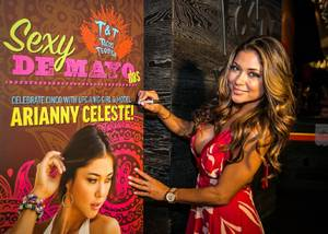 Arianny Celeste Hosts Cinco de Mayo