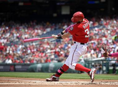 The Washington Nationals outfielder is proving worthy of his hype.
