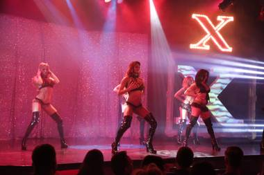 "The 13th anniversary of ""X Burlesque"" on Thursday, May 7, 2015, at the Flamingo."