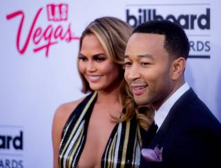 Host Chrissy Teigen and performer and presenter John Legend at the 2015 Billboard Music Awards on Sunday, May 17, 2015, at MGM Grand in Las Vegas.