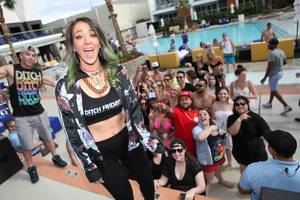 Jenna Marbles Hosts Ditch Fridays