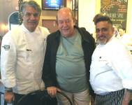 Kim Canteenwalla, Robin Leach and Sammy DeMarco at Made L.V. on Wednesday, May 20, 2015, in Tivoli Village.