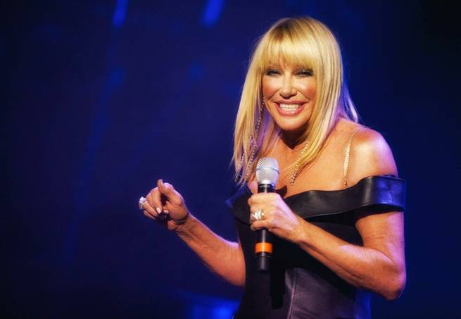 "Suzanne Somers' ""Suzanne Sizzles"" premieres Saturday, May 23, 2015, at Westgate Las Vegas."