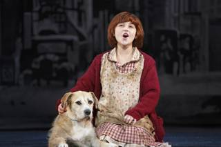 """Annie"" is at the Smith Center for the Performing Arts from Tuesday, May 26, through Sunday, May 31, 2015, in downtown Las Vegas."