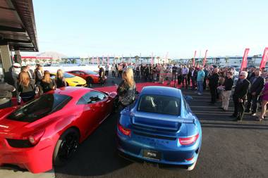 This week, Monday by the Numbers touches on such vehicles as Ferrari and Lamborghini and Porsche as the crew at Exotics Racing celebrated the opening of a Welcome Center at the attraction's Las Vegas Motor Speedway home.