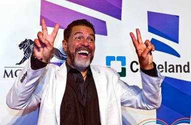 "Entertainer Clint Holmes attends the 19th annual Keep Memory Alive ""Power of Love"" gala for the Cleveland Clinic Lou Ruvo Center for Brain Health honoring Andrea Bocelli and wife Veronica Bocelli on Saturday, June 13, 2015, at MGM Grand Garden Arena."