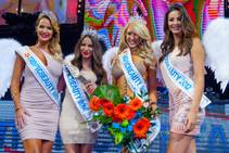 The 2015 Tropic Beauty Model Search world finals won by Elise Duncan of Perth, Australia, at Light on Saturday, June 13, 2015, in Mandalay Bay.