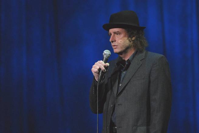 Comedian and actor Steven Wright.