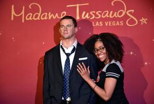 Channing Tatum Wax Figure