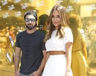 Brody Jenner and Hannah Davis promote Las Vegas with Vegas Season on Wednesday, July 1, 2015, at Hollywood and Highland in Los Angeles.