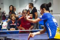 """When you think of big events you think of Las Vegas,"" said Gordon Kaye, the CEO of USA Table Tennis. ""It's a natural fit."" The five-day event concludes on Saturday night, when the men's and women's singles championships are played inside Omnia Nightclub at Caesars Palace ..."