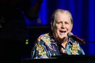 Brian Wilson, with guests Rodriguez and Al Jardine, at the Chelsea on Friday, July 10, 2015, in the Cosmopolitan of Las Vegas.