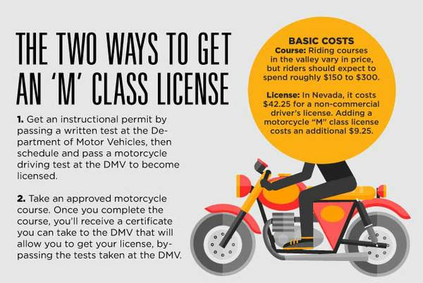 Want a motorcycle license? Here's what to expect - Las Vegas