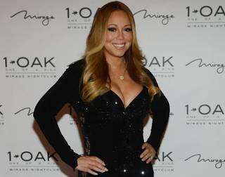 Mariah Carey hosts at 1 OAK on Saturday, July 25, 2015, in the Mirage.