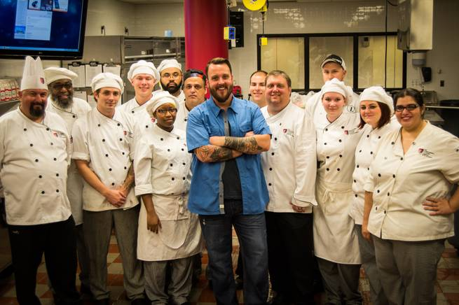 Food Network star chef and restaurateur Ben Vaughn.