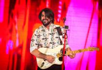 Juanes performs at the Joint on Thursday, July 30, 2015, in the Hard Rock Hotel in Las Vegas.