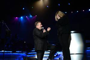 Terry Fator Proposes